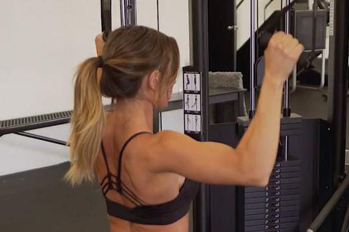 Back Workout with LIV Body Athlete Paige Hathaway