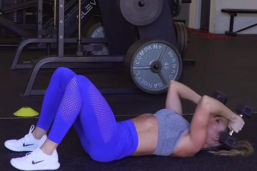Full Body Dumbbell Workout with LIV Body Athlete Paige Hathaway