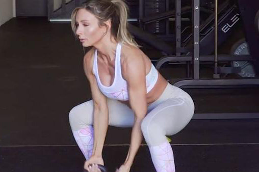 Kettlebell Workout 2 with LIV Body Athlete Paige Hathaway