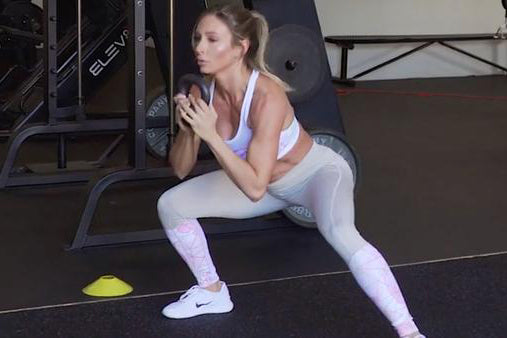 Kettlebell Workout with LIV Body Athlete Paige Hathaway