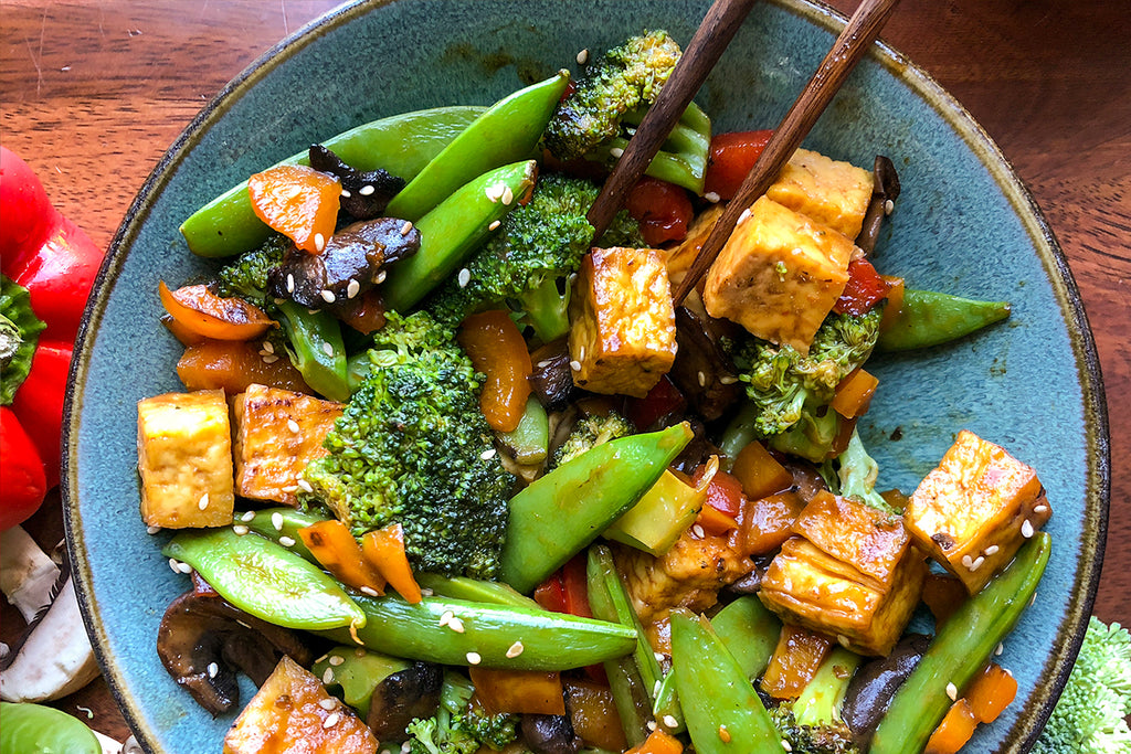 Yummy & Healthy Vegan Tofu Stir-Fry Recipe
