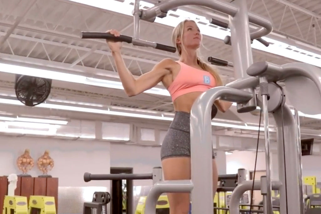 Back Workout at the Gym with LIV Body Athlete Jordan Edwards