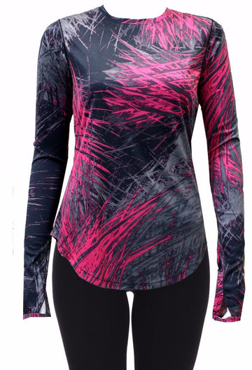 Asics Womens Pixton Long Sleeve Layer Tee