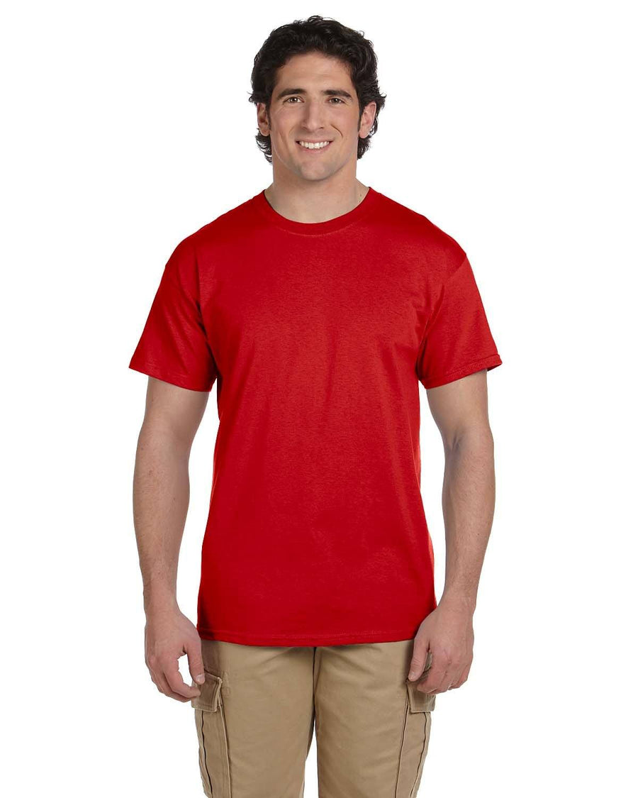 Fruit of the Loom Select Men's Short Sleeve T-Shirt - True Red