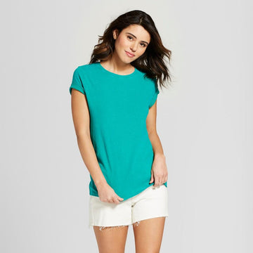 Women's Short Sleeve Meriwether Crew Neck T-Shirt - Universal Thread