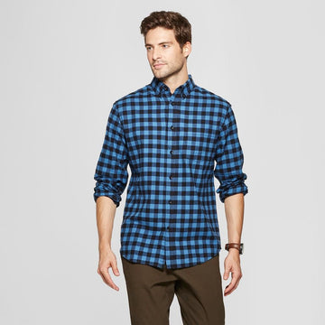 Men's Standard Fit Pocket Flannel