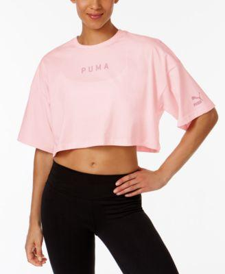 Puma Xtreme Cotton Cropped Top