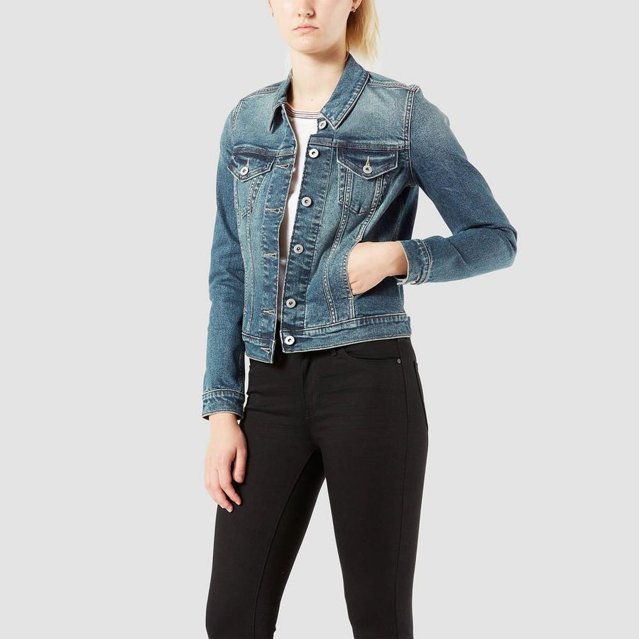 DENIZEN from Levi's Women's Original Trucker Jacket - Heartbreaker