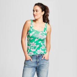 Women's Floral Any Day Tank - A New Day Green