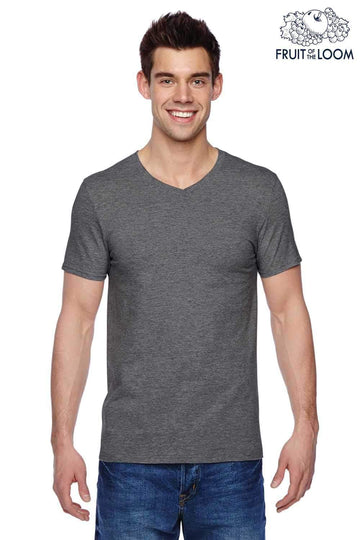 Fruit of the Loom Men's T-Shirt - Charcoal Heather