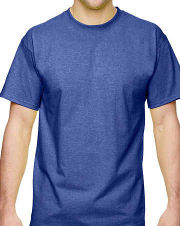 Fruit of the Loom Select Men's Deep Cobalt Short Sleeve Tee