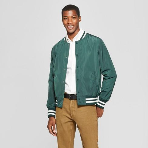 Men's Varsity Bomber Jacket - Goodfellow & Co