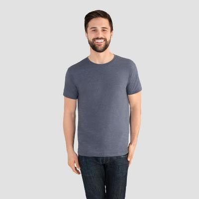 Fruit of the Loom Select Men's Everlight Short Sleeve T-Shirt - Indigo Ink Heather