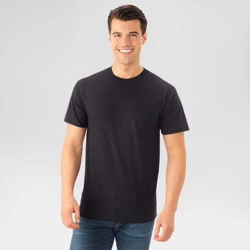 Fruit of the Loom Select Men's Short Sleeve T-Shirt - Black