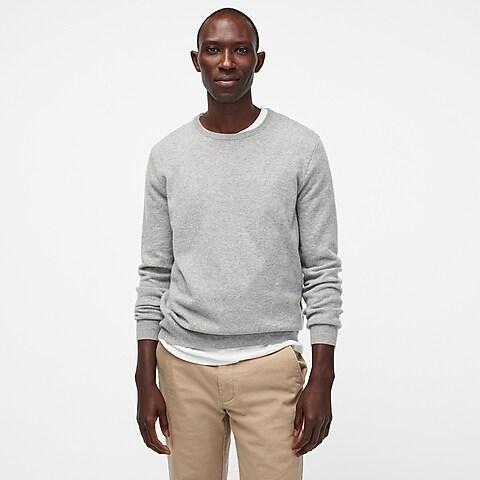 Men's Striped Standard Fit Crew Neck Sweater - Goodfellow & Co