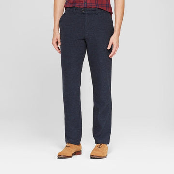 Men's Solid Slim Fit Lightweight Trouser - Goodfellow
