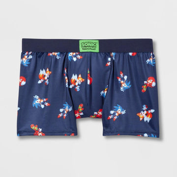 BioWorld Merchandising Men's Sonic the Hedgehog Guys Boxer Brief