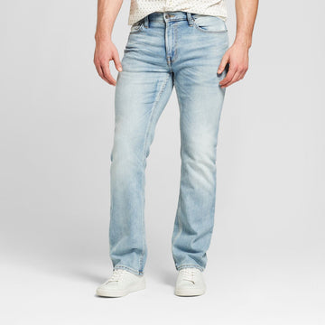 Men's Straight Fit Jeans with Coolmax - Goodfellow & Co - Natural