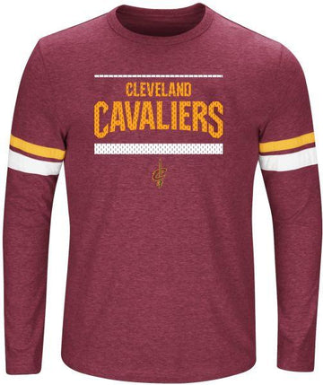 NBA Cleveland Cavaliers Long Sleeve Screen Print Tee