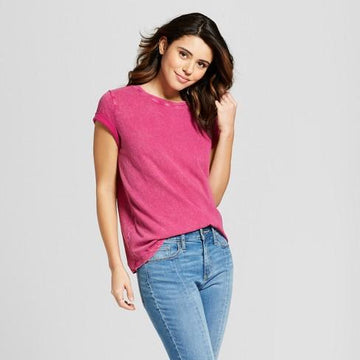Universal Thread Women's Short Sleeve Meriwether Crew Neck T-Shirt