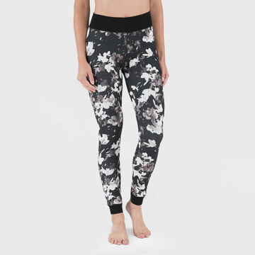 Wander by Hottotties Women's Velvet Floral Print Leggings