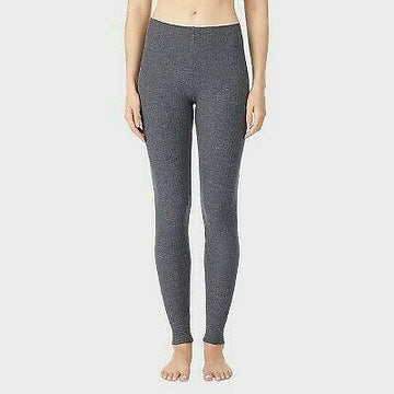 Warm Essentials Soft Rib Pants Heather Grey