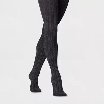 A New Day Women's Cable Sweater Tights