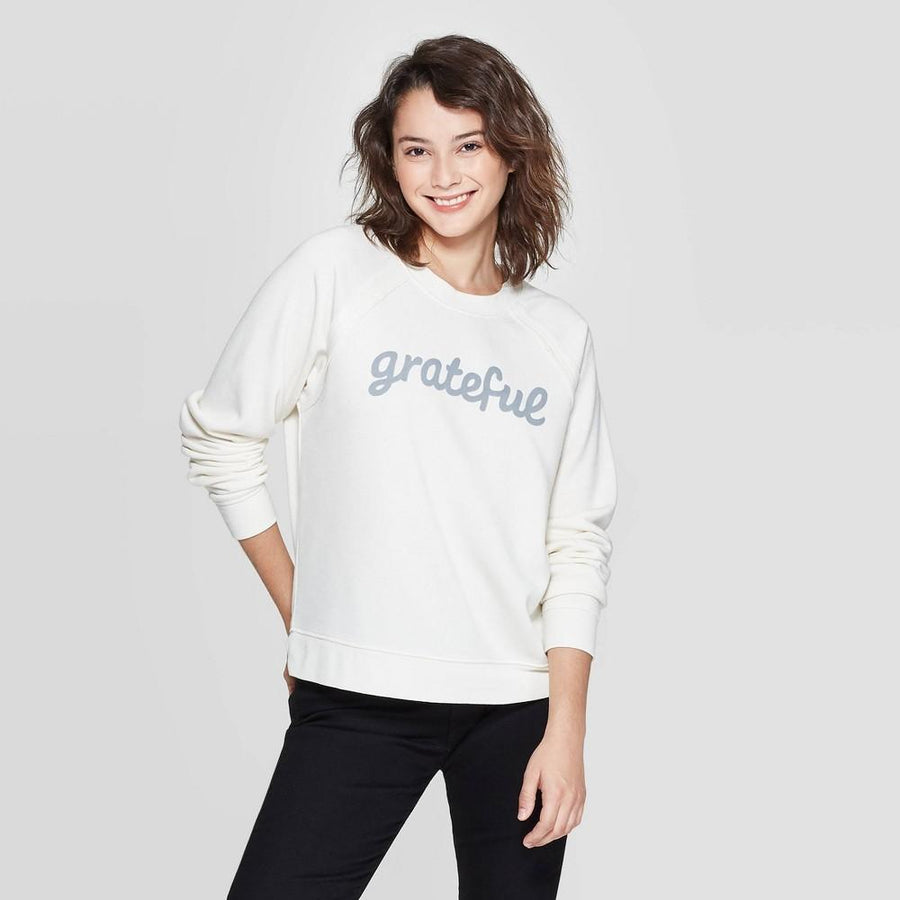 Women's Grateful Graphic Sweatshirt - Grayson Threads (Juniors')