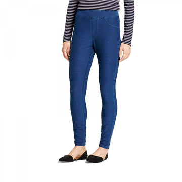 Women's High Waist Jeggings - A New Day - Medium Washed Blue