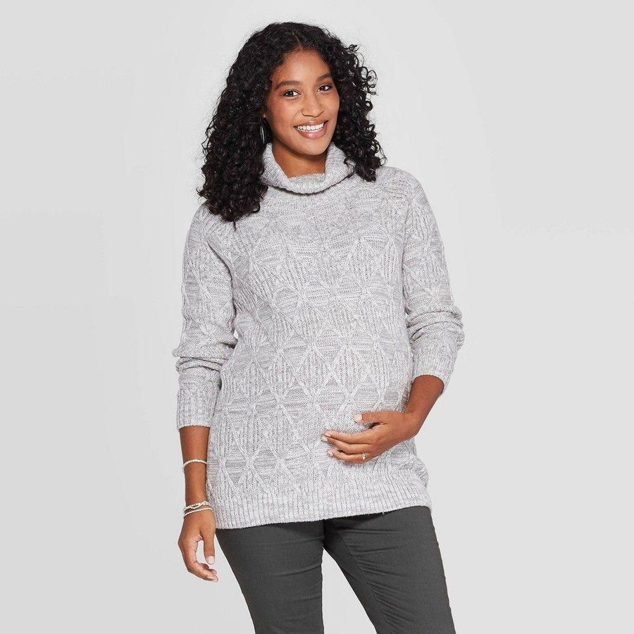 Women's Maternity Pullover - Isabel Maternity by Ingrid & Isabel Gray