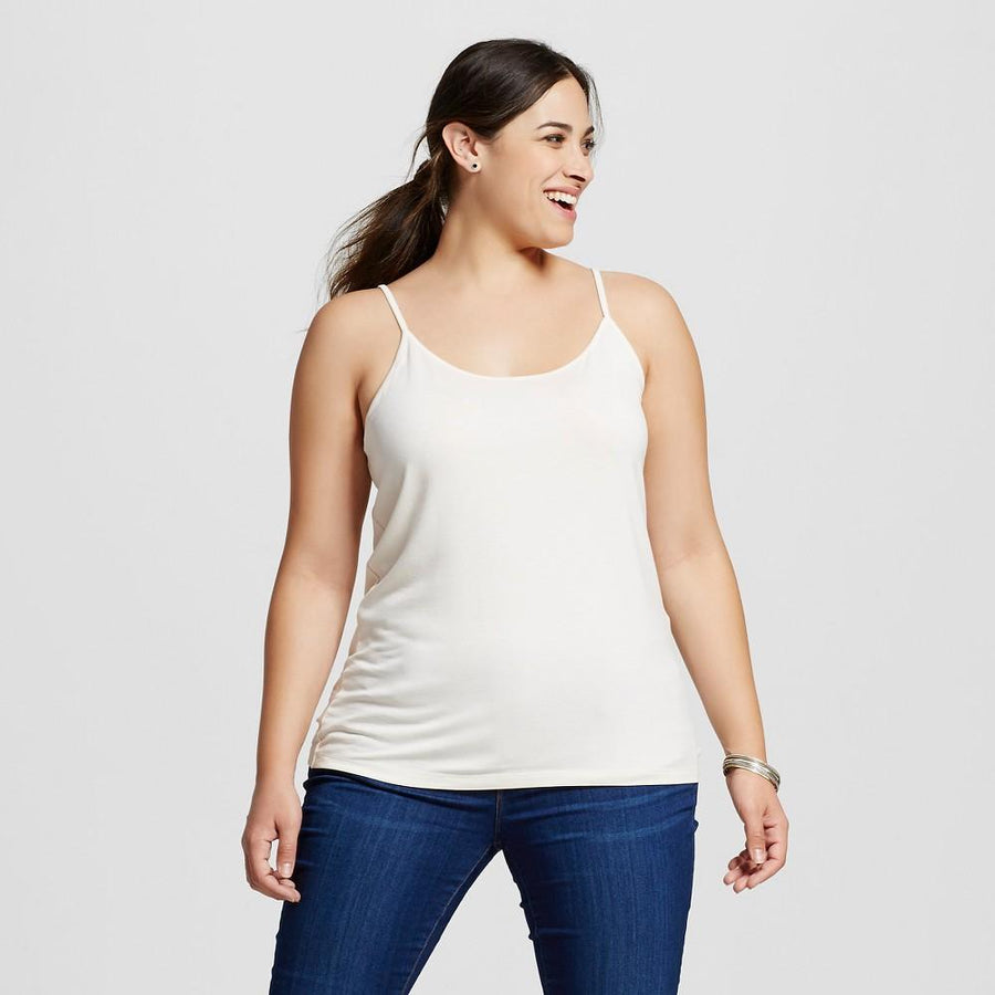 Women's Plus Size Cami - Ava & Viv™ - Shell