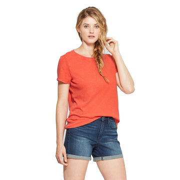 Women's Meriwether Crew Neck Short Sleeve T-Shirt - Universal Thread