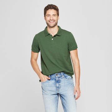 Men's Standard Fit Short Sleeve Loring Polo T-Shirt