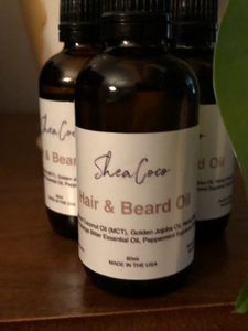 SHEACOCO Hair & Beard Oil