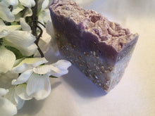 Load image into Gallery viewer, SHEACOCO Lavender & Oatmeal Soap