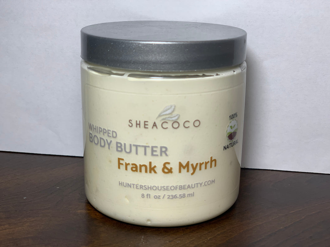 Frank and Myrrh Whipped Body Butter