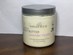 Lavender & Vanilla Whipped Body Butter