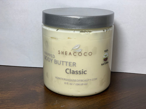 Classic AKA Unscented Whipped Body Butter