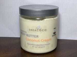 Coconut Cream AKA Coconut Whipped Body Butter