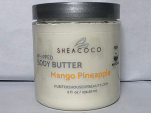 Mango Pineapple Whipped Body Butter
