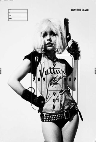 Debbie Harry X Offender on target 1/10 ltd edition, Giclee print