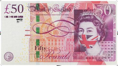 Tomorrows toilet paper £50 note, God save our queen.