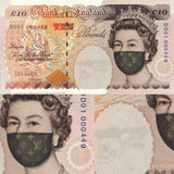 The fashionable face of Hysteria £10 note