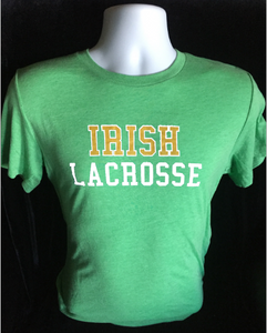 Irish Lacrosse Tri-blend Super Soft Short Sleeve T-shirt