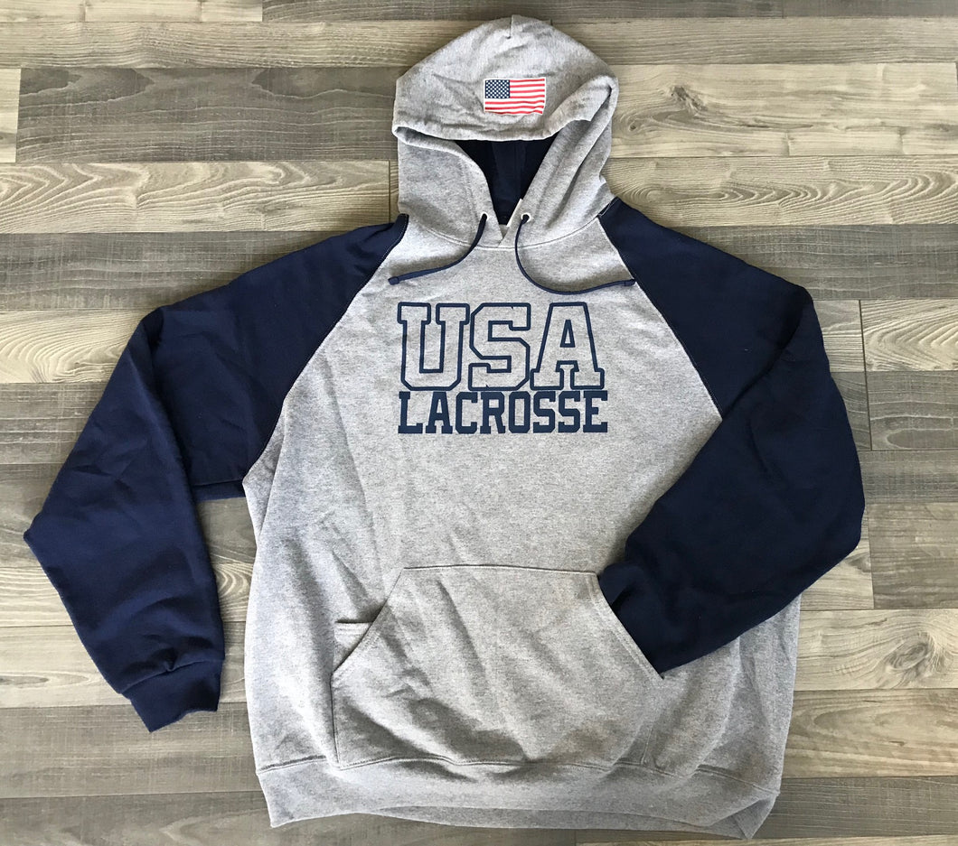 USA Lacrosse Colorblock Hood