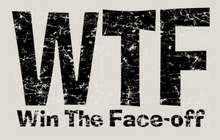 Load image into Gallery viewer, WTF- Win The Faceoff Short Sleeve T-Shirt
