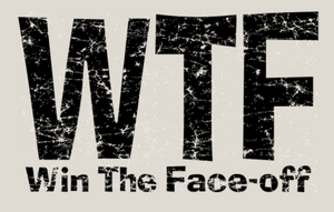 WTF- Win The Faceoff Short Sleeve T-Shirt