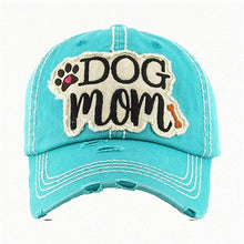 Load image into Gallery viewer, Adjustable Ladies Womens Dog Mom Bone Puppy Paw Cap Hat