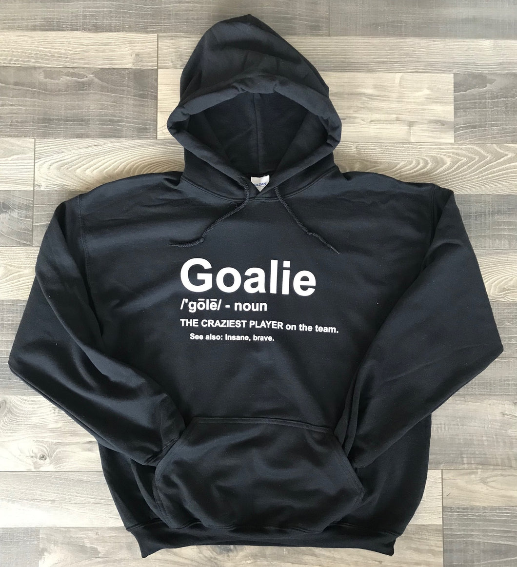 Goalie Definition Hooded Sweatshirt