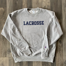 Load image into Gallery viewer, Champion Reverse Weave Lacrosse Crewneck Sweatshirt